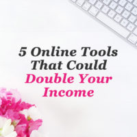 5 online tools that could double your income