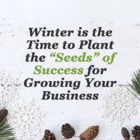 Winter is the time to plant the seeds of success for growing your business