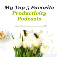 My top 5 favorite productivity podcasts
