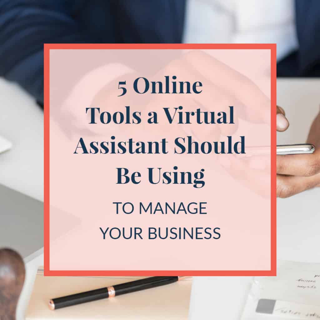 JLVAS-5 Online Tools a VA Should Be Using to Manage Business Blog Image - V1, AF