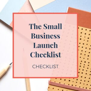 small business launch