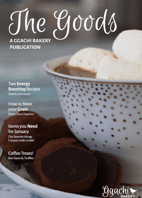 Ggachi Bakery Magazine