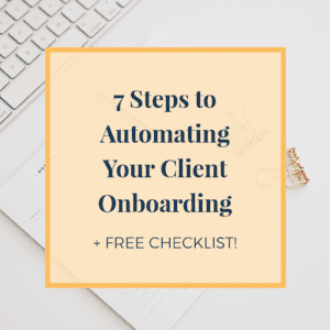 automating your client onboarding