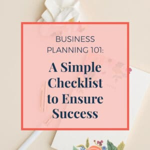 JLVAS Business Planning-A simple checklist to ensure success