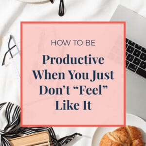 JLVAS - how to be productive when you just don't feel like it