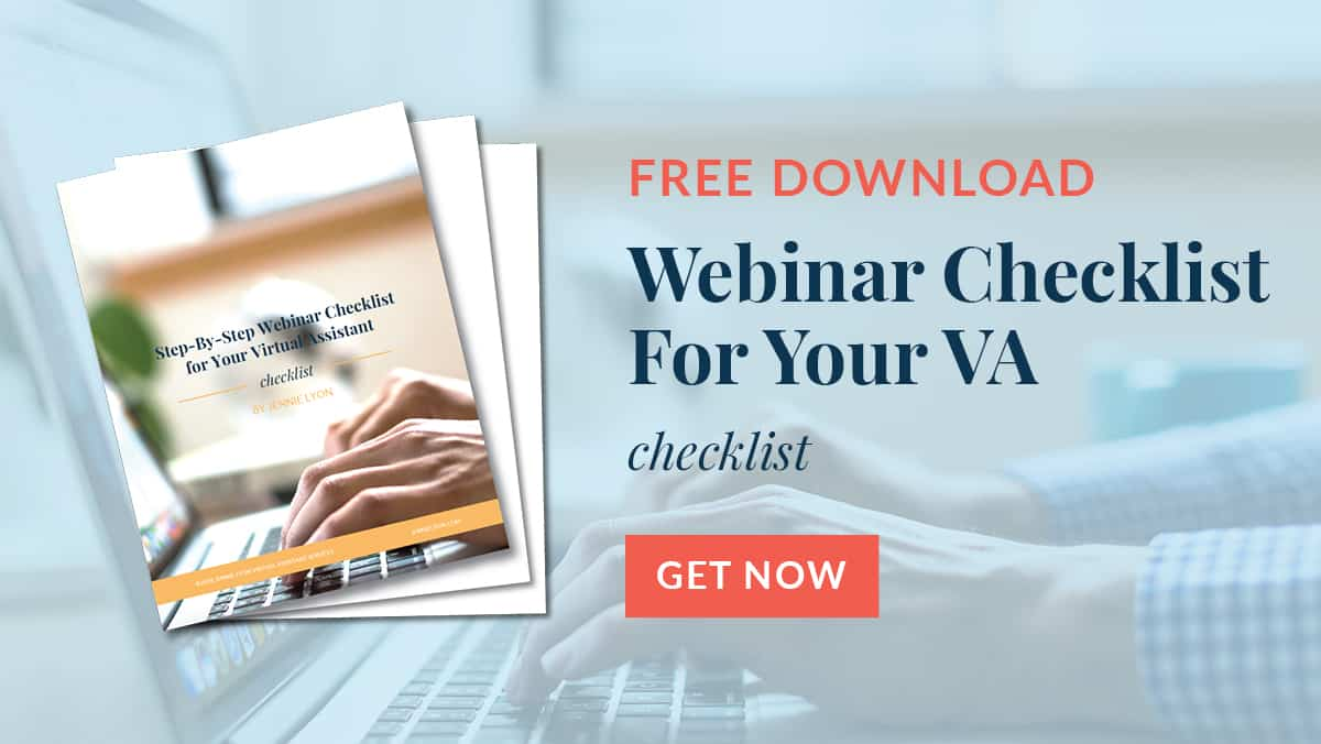 Ultimate Webinar checklist