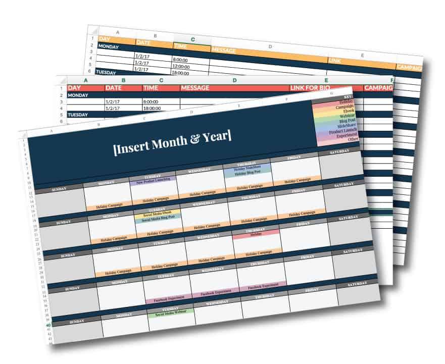 Social-Media-Calendar-Templ