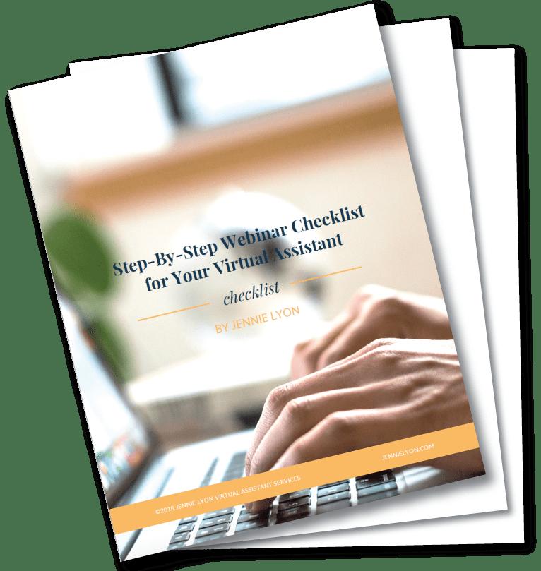 Webinar-Checklist