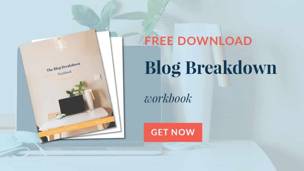 Blog Breakdown Workbook
