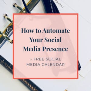 JLVAS How to Automate Your Social Media Presence Free Social Media Calendar