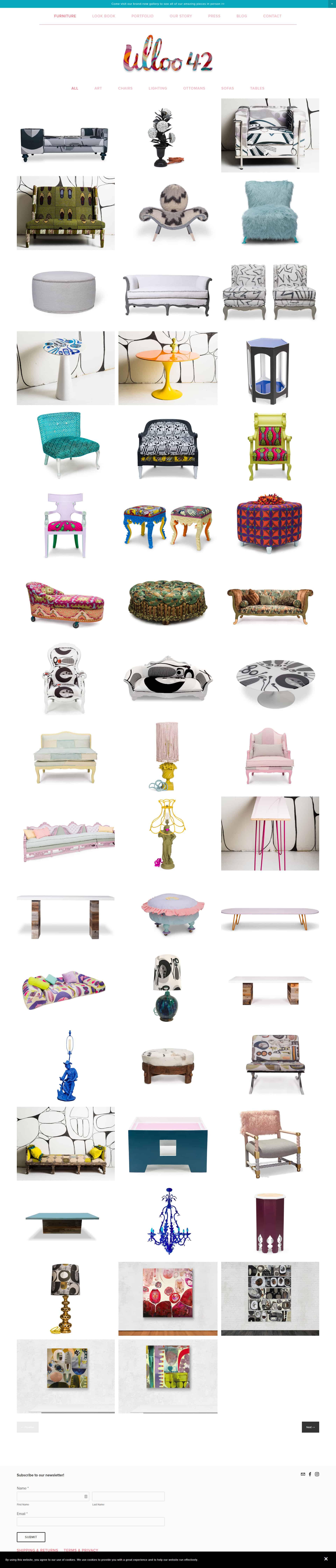 Online Shop Design & Layout Example