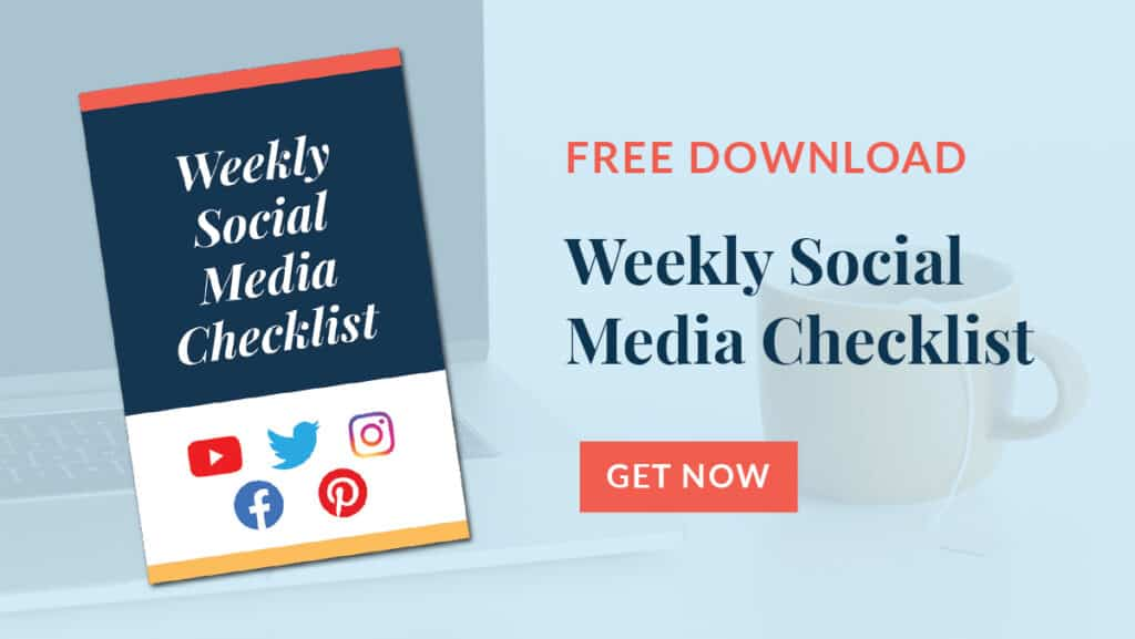 schedule a month's worth of social media