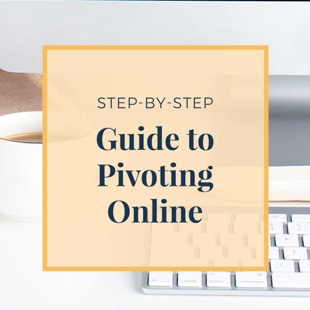 Step-by-Step Guide to Pivoting Online