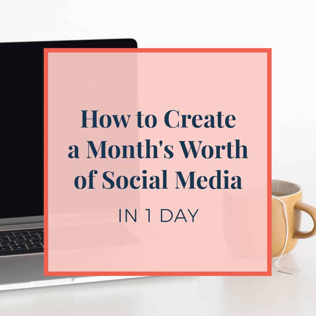 JLVAS New Blog Images-How to Create a Month's worth of social media in one day