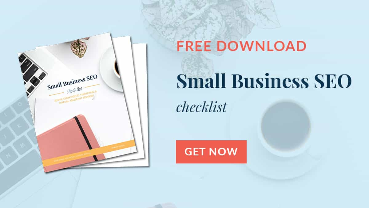 Small Business SEO Checklist Download Image