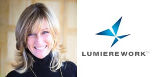 Kathleen Joy, Lumiere Work Logo