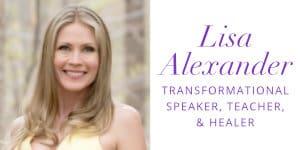 Lisa Alexander Headshot and Logo