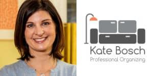Kate Bosch Headshot & Logo