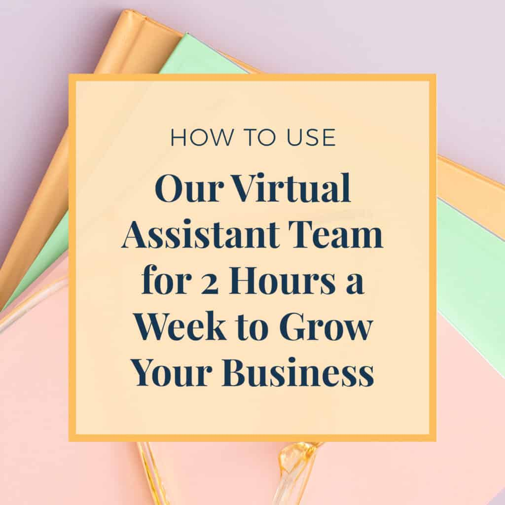 Virtual Assistant 2 hours a week to grow business