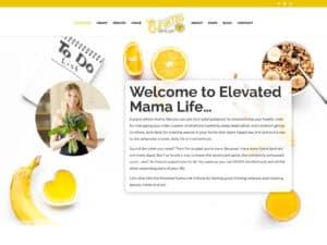 Elevated Mama Life Website