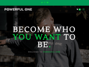 Powerful One Website Small